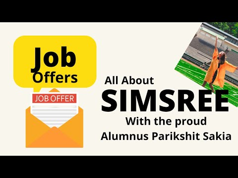 All about SIMSREE | With the proud Alumnus Parikshit Sakia | Live on Unacademy CATalyst