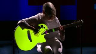 Kaki King TED presentation - A musical escape into a world of light and color