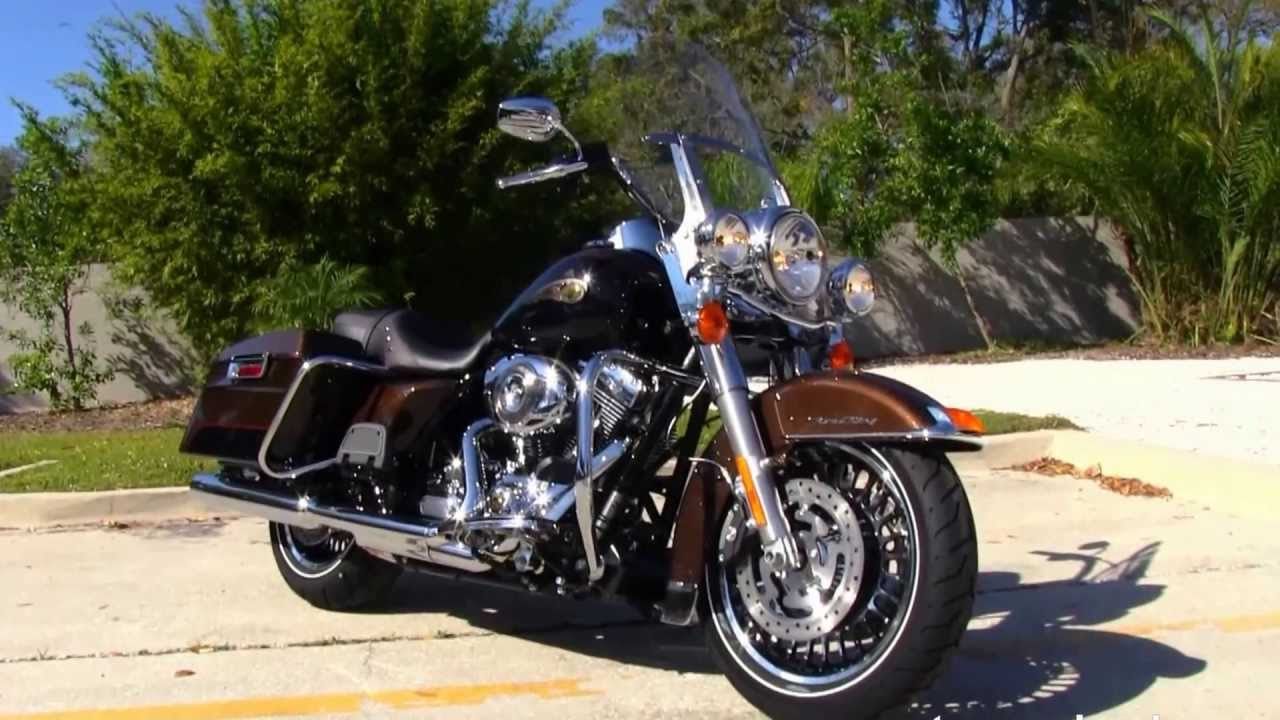 2013 harley davidson flhr road king 110th anniversary edition for sale youtube
