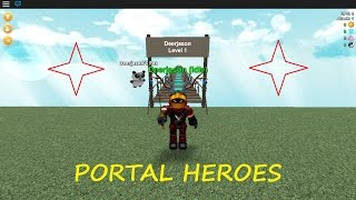 (Roblox) HIRING BARBARIANS (Portal Helden - 1)