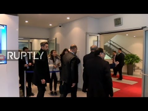 LIVE: 5th OPEC and non-OPEC ministerial meeting - arrivals