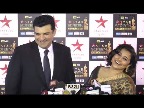 Vidya Balan and Siddharth Roy Kapur At Star Screen Awards 2017 Red Carpet