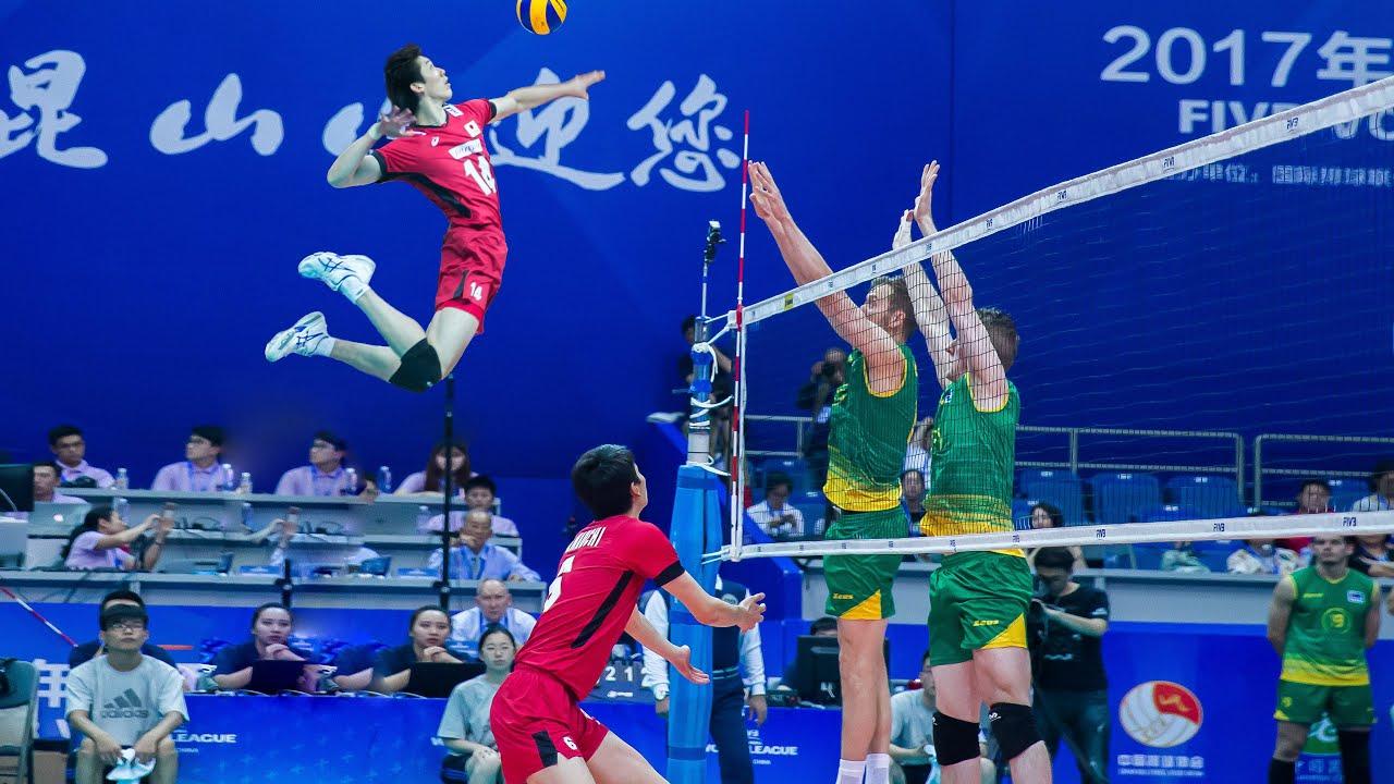 Hinata in Real Life Volleyball | Yuki Ishikawa | Monster of the Vertical Jump (HD)