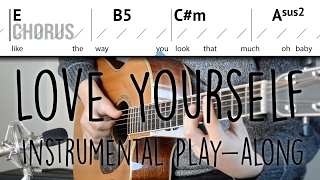 """""""Love Yourself"""" Acoustic Instrumental Play-along 