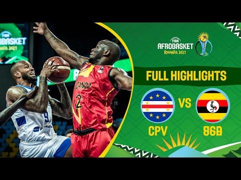 Cape Verde - Uganda | Game Highlights - FIBA AfroBasket 2021