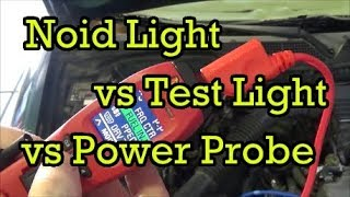 Fuel Injector Testing: Noid Light vs Power Probe vs Test Light (Honda)