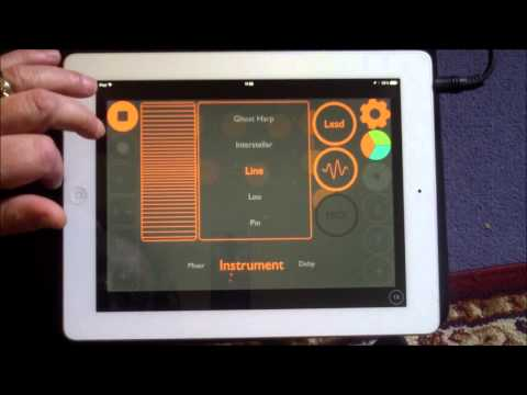 dot Melody, Demo and Tutorial for iPad