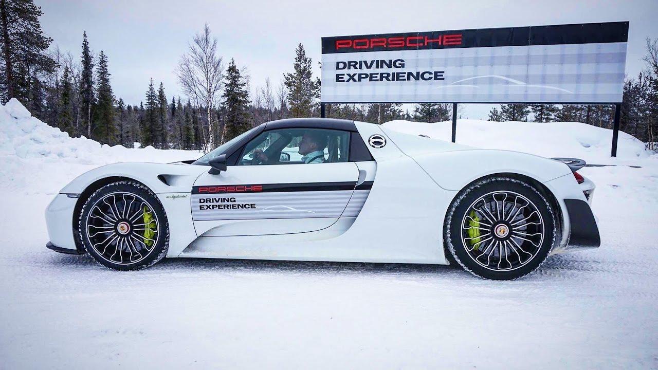 Porsche Driving Experience >> Porsche Driving Experience Winter 2017 Porsche Ag Youtube