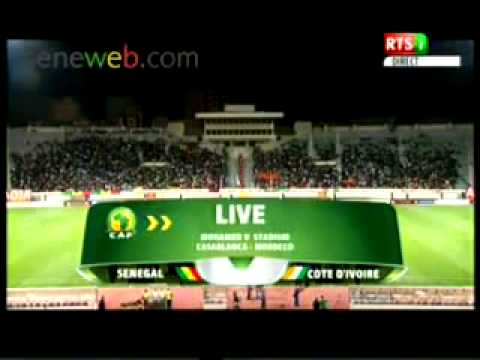 Senegal Vs Cote D'ivoir Presentation Hymne Nationale des Deux Equipes