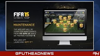 FIFA 15 Web App! New Legends Ratings, FIFA 15 iOS - FIFA News Roundup #14