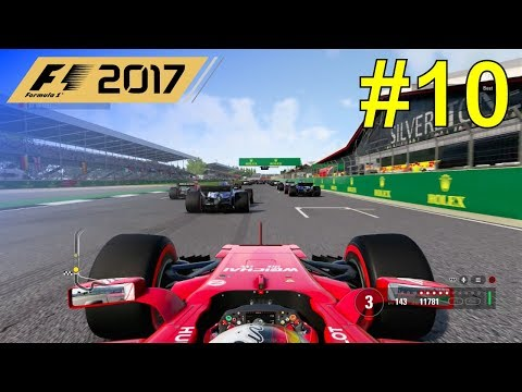 F1 2017 - Let's Make Vettel World Champion Again #10 - 100% Race Great Britain