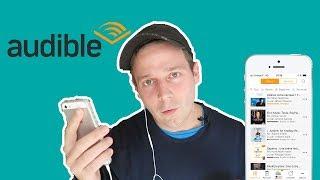 Livre audio Audible : pour lire plus vite