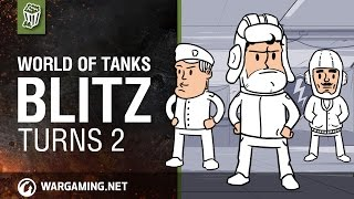 World of Tanks Blitz - Turns Years 2 old!