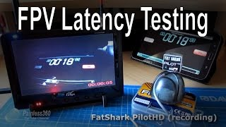 FPV Camera Latency - Testing and comparison (Mobius, 808#16, GoPro and FatShark)