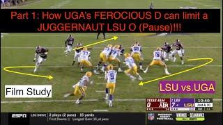 LSU vs. UGA: How to dampen Jugular Joe Burrow!
