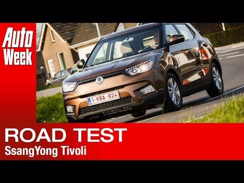 SsangYong Tivoli road test