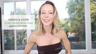 Shred & Glow Meal Plan Quick Overview