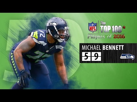 #59: Michael Bennett (DE, Seahawks) | Top 100 NFL Players of 2016