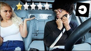 PICKED UP MY GIRLFRIEND IN AN UBER UNDER DISGUISE!!! *went terrible*