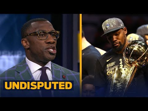 Shannon Sharpe Reacts To KD's Warriors Sweeping LeBron's Cavs In 2018 NBA Finals | NBA | UNDISPUTED