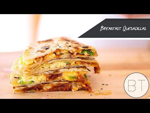 Breakfast Quesadillas Recipe 2018