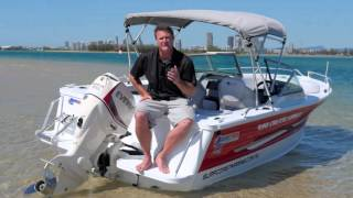 Boat Reviews on the Broadwater - 2016 Quintrex 490 Cruiseabout