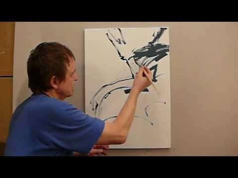 Jak Malować Farbami Akrylowymi Jak Namalować Obraz Abstrakcja