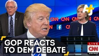 GOP Reacts To CNN Democratic Debate – They Did Not Feel The Bern