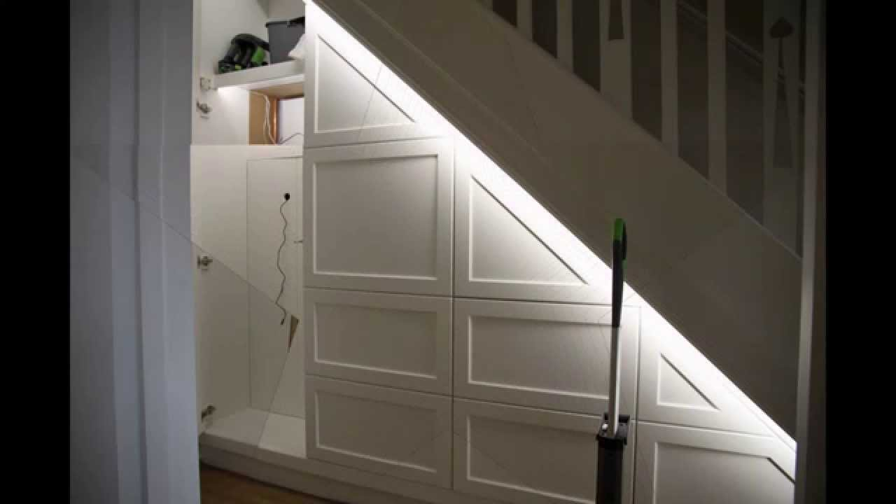 under stairs cupboard youtube