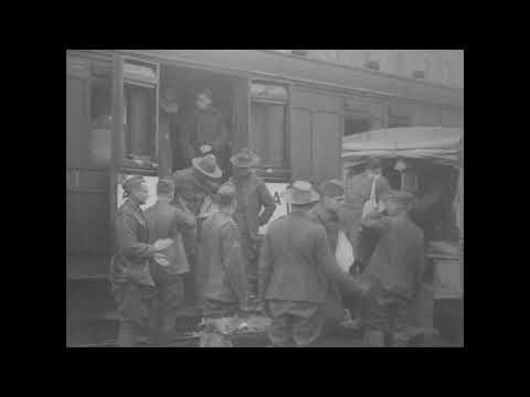 Base Section No. 1 (St. Nazaire), Hospitalization [1918]