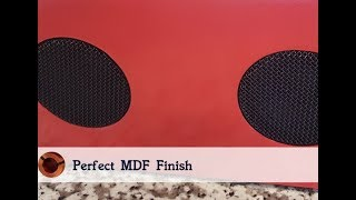 How To Seal And Paint Mdf For The Perfect Finish