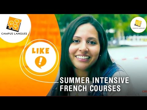 Discover the Summer intensive French courses