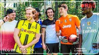 NIE GEZEIGTE FUßBALL CHALLENGES!!