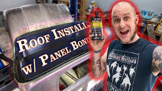 60-66 C10 Roof Skin Replacement - Panel Bonding, POR-15, and YOU! - C10 Build Vlog #10