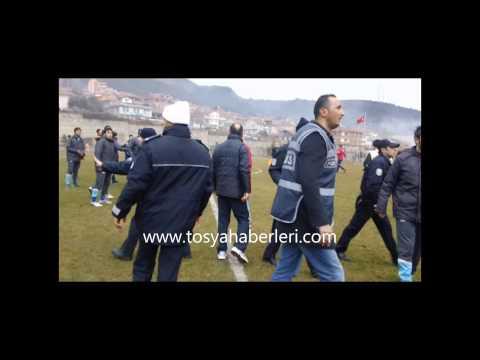 tosya belediyespor  iskilip belediyespor olaylı maç.mp4