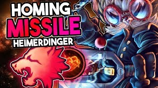 NEW HEIMERDINGER RUNES! PREDATOR RUNE MAKES HEIMERDINGER GANKS RIDICULOUS! - League of Legends