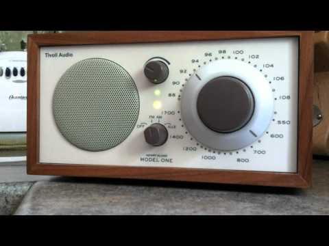 Tivoli Model 1 Table Radio Incredible Internal FM Antenna Demo