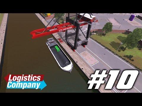 Logistics Company || #10 - Портовый кран