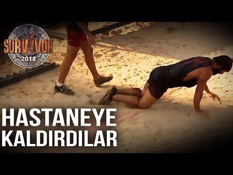 Turabi Parkurda Çok Kötü Düştü!   92. Bölüm   Survivor 2018