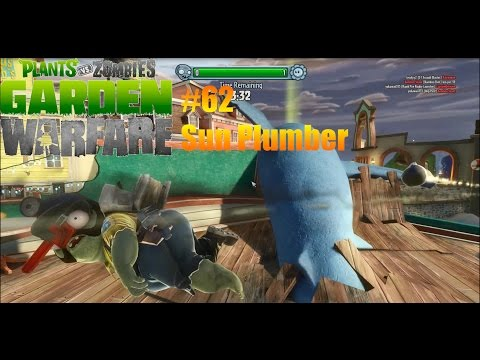 Plants Vs Zombies : Garden Warfare - #62 - Sun Plumber