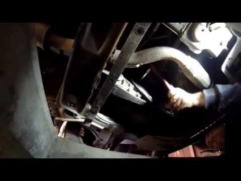Как проверить масло в коробке передач Шевроле Лачетти