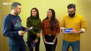 Gambar cover Dragoș Bucur, Alina Vîlcu, Cristina Joia și Valentin Ionașcu le răspund fanilor la curiozități