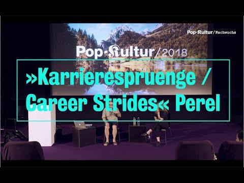 Pop-Kultur Nachwuchs Talk: »Karrieresprünge« - Perel