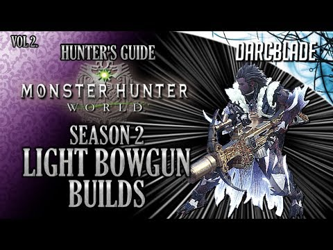 Even More Amazing Light Bowgun Builds : MHW Build Series
