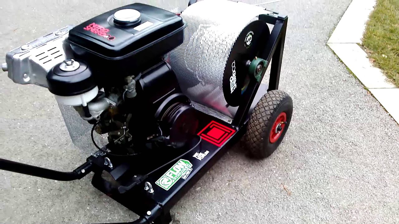 Snowboard Winch Honda G200 Engine
