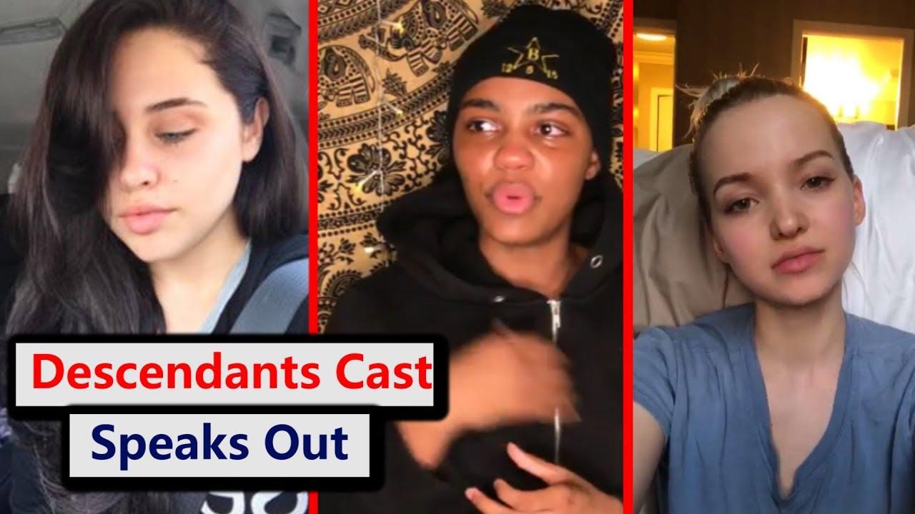 Descendants cast reacts to Cameron Boyce passing