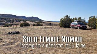 Minivan Camping in Ruŗal Arizona | Boondocking near Seligman, AZ without a soul in sight. #VanLife