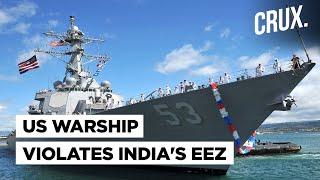 US Navy Warship In Indian Waters Near Lakshadweep Sets Delhi Against Washington