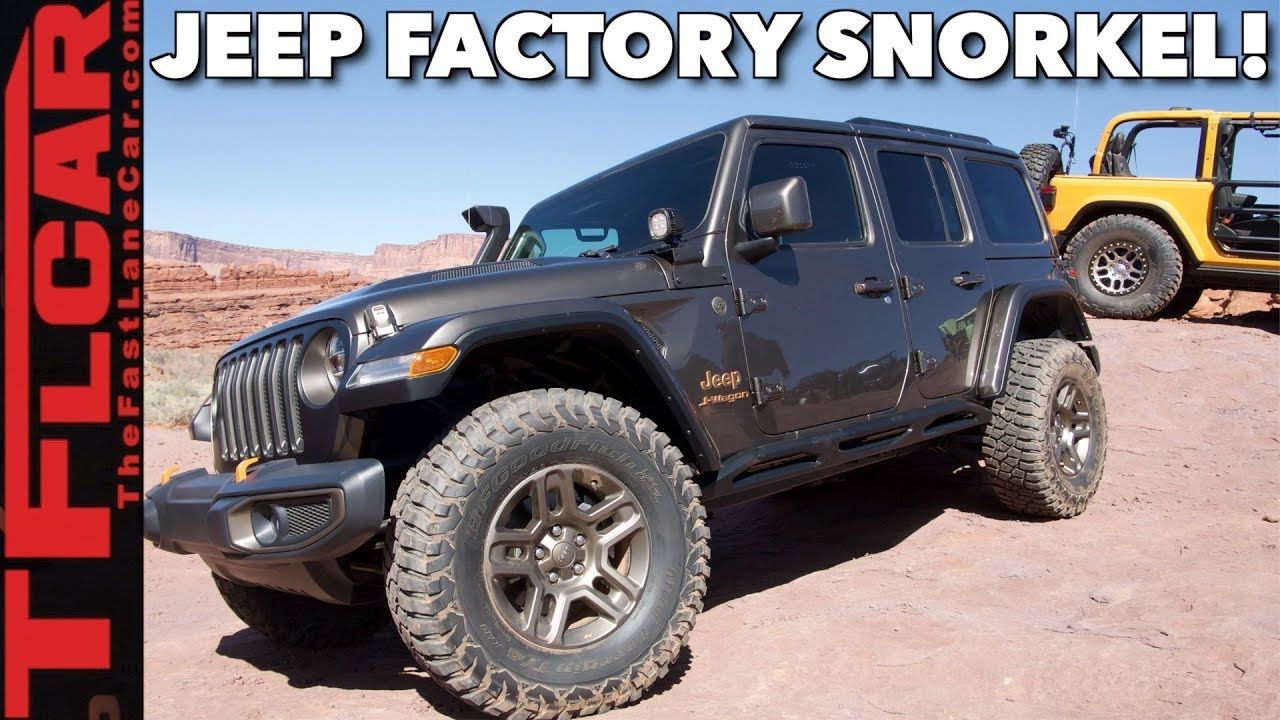 Meet The Jeep J Wagon A New Wrangler Hood And Snorkel Previewed