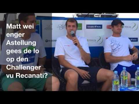 Interview mam Gilles Muller no senger Final zu Portoroz